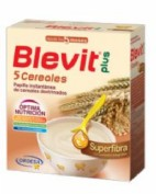 BLEVIT PLUS GAMA SUPERFIBRA 5 CEREALES 600g