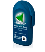 NICORETTE SUPERMINT 4 mg COMPRIMIDOS PARA CHUPAR EFG, 20 comprimidos