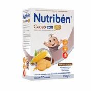 Nutribén Cacao con galletas María (250 g)