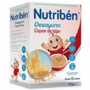 Nutribén Desayuno copos de trigo (600 g)