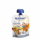 Nutribén Fruta & GO! Frutas variadas (90 g)