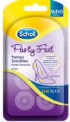 party feet puntos sensibles
