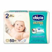Chicco Pañales Talla 2 Dry Fit Mini 3-6 kg (50 ud)