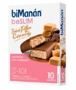 BiManán Barritas BeSlim Toffee Caramelo (10 ud)