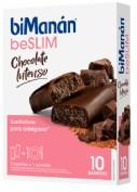 BiManán Barritas BeSlim Chocolate Intenso (10 ud)