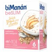 BiManán Crema BeSlim Sabor Yogur con Cereales (6 sobres)