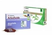 Arkofluido Alcachofa 10 ampollas + Té verde 10 ampollas