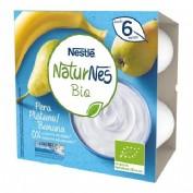 Nestlé Naturnes Yogur Bio Pera y Plátano + 6 m  (90 g x 4 ud)