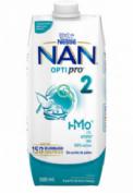 NAN 2 Optipro Leche Líquida de Continuación (500 g)