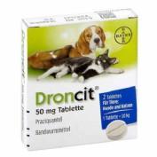 Droncit Tenicida (2 comprimidos) vet