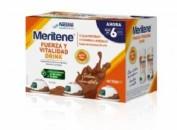 MERITENE DRINK (125 ML 6 BOTELLAS CHOCOLATE)