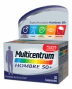 MULTICENTRUM HOMBRE 50+ (30 COMP)