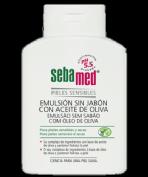 Sebamed Emulsión sin Jabón con Aceite de Oliva (200 ml)