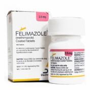 Felimazole 2,5 mg (100 comp) vet