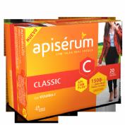 Apisérum Classic 1500 mg de Jalea Real fresca (20 viales)