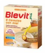 BLEVIT PLUS GAMA SUPERFIBRA 8 CEREALES +MIEL 600 g