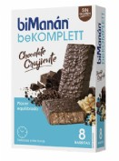 BiManán Barrita de Chocolate crujiente (35 g x 8 ud)