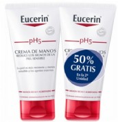 Pack DUPLO Eucerin pH5 Crema de manos (75 ml + 75 ml)