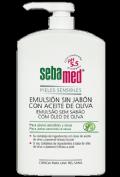 Sebamed Emulsión sin Jabón con Aceite de Oliva (1 L)