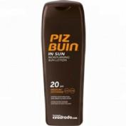 Piz Buin Moisturising SPF 20 Loción Solar hidratante (200 ml)