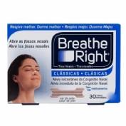 BREATHE RIGHT - TIRA ADH NASAL (COLOR T- GDE 30 U)