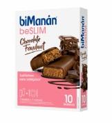 BiManán Barritas BeSlim Chocolate Negro Fondant (10 ud)