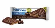 BiManán Snack Barrita Crujiente de Cereales y Chocolate negro (20 g)