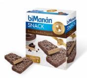 BiManán Snack Bombón Crujiente (4 barritas)