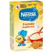 Nestlé Papilla 8 Cereales con Galleta María 6m+ (600 g)