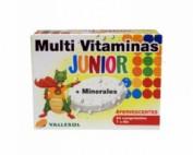 Vallesol multivitaminas junior comp efervescente (12 u 2 tubos)