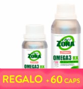 Enerzona Omega 3 RX 240 cápsulas + REGALO de 60 cápsulas