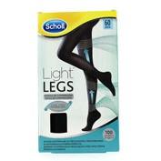 Dr. Scholl Medias de compresión ligera - Light Legs 60 DEN color negro - talla S