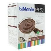 BiManán PRO Crema de Chocolate (45 g x 6 sobres)