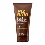Piz Buin Tan & Protect SPF 15 Loción solar intensificadora de bronceado (150 ml)