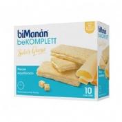 BiManán Delice Entre horas Crackers de queso (20 g x 10 u)